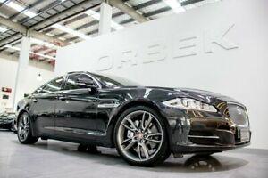 2011 Jaguar XJ X351 5.0 V8 Premium Luxury LWB Stratus Grey 6 Speed Automatic Sedan Port Melbourne Port Phillip Preview