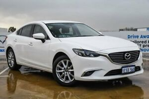 2015 Mazda 6 GJ1032 Touring SKYACTIV-Drive White 6 Speed Sports Automatic Sedan Osborne Park Stirling Area Preview