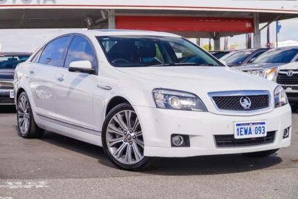 2015 Holden Caprice WN MY15 V White 6 Speed Auto Active Sequential Sedan Osborne Park Stirling Area Preview
