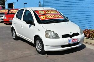 2000 Toyota Echo NCP10R White 4 Speed Automatic Hatchback Enfield Port Adelaide Area Preview