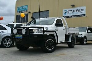 2017 Toyota Hilux GUN126R MY17 SR (4x4) White 6 Speed Manual Cab Chassis East Brisbane Brisbane South East Preview