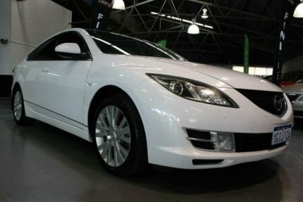 2010 Mazda 6 GH MY10 Classic White 5 Speed Auto Activematic Hatchback Victoria Park Victoria Park Area Preview