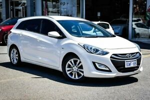 2013 Hyundai i30 GD Active Tourer White 6 Speed Sports Automatic Wagon Myaree Melville Area Preview