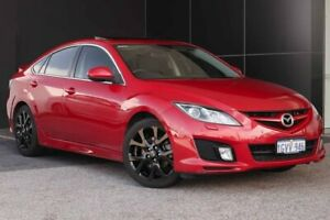 2009 Mazda 6 GH1051 MY09 Luxury Sports Red/Black 5 Speed Sports Automatic Hatchback Wangara Wanneroo Area Preview