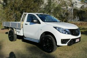 2018 Mazda BT-50 UR0YE1 XT 4x2 Hi-Rider White 6 Speed Sports Automatic Cab Chassis Ormeau Gold Coast North Preview