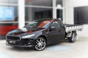 2016 Ford Falcon FG X XR6 Super Cab Black 6 Speed Sports Automatic Cab Chassis Berwick Casey Area Preview