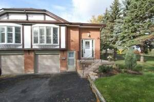 3+1 Bdrm Semi-Detached Raised Bungalow W/ Fin W/O Bsmnt
