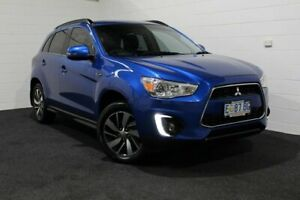 2014 Mitsubishi ASX XB MY14 2WD Blue 6 Speed Constant Variable Wagon Glenorchy Glenorchy Area Preview