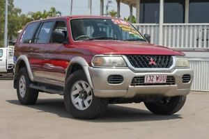 2002 Mitsubishi Challenger PA LS Red Automatic Kedron Brisbane North East Preview