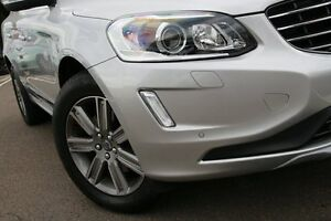 2016 Volvo XC60 DZ MY16 T5 Geartronic Luxury Bright Silver 8 Speed Sports Automatic Wagon Dee Why Manly Area Preview