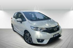 2014 Honda Jazz GK MY15 VTi-S White Orchid Continuous Variable Hatchback Golden Square Bendigo City Preview