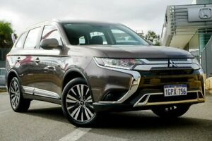 2018 Mitsubishi Outlander ZL MY19 ES 7 Seat (AWD) Brown Continuous Variable Wagon Wangara Wanneroo Area Preview