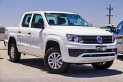 2017 Volkswagen Amarok 2H MY17 TDI420 4MOTION Perm Core White 8 Speed Automatic Utility Myaree Melville Area Preview