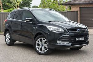 2013 Ford Kuga TF Trend PwrShift AWD Black 6 Speed Sports Automatic Dual Clutch Wagon Greenacre Bankstown Area Preview