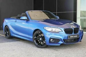 2015 BMW 228i F23 M Sport Estoril Blue 8 Speed Sports Automatic Convertible Wangara Wanneroo Area Preview