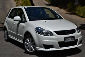 2007 Suzuki SX4 GYC S White 4 Speed Automatic Sedan St Marys Mitcham Area Preview