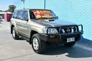 2007 Nissan Patrol GU VI ST (4x4) Gold 4 Speed Automatic Wagon Enfield Port Adelaide Area Preview