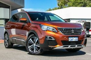2018 Peugeot 3008 P84 MY18 Allure SUV Brown 6 Speed Sports Automatic Hatchback Victoria Park Victoria Park Area Preview