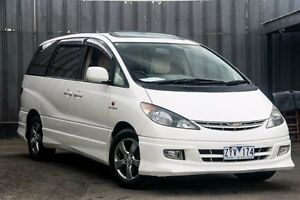 2002 Toyota Estima ACR30 Aeras White 4 Speed Automatic Wagon Ringwood East Maroondah Area Preview