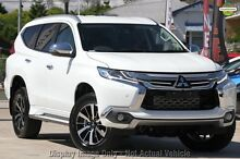 2016 Mitsubishi Pajero Sport QE Exceed (4x4) White 8 Speed Automatic Wagon Wolli Creek Rockdale Area Preview