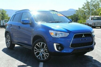 2016 Mitsubishi ASX XB MY15.5 LS 2WD Blue 6 Speed Constant Variable Wagon Portsmith Cairns City Preview