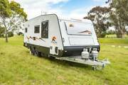 SNOWY RIVER SEMI OFF ROAD CARAVAN 19'6 Melrose Park Mitcham Area Preview