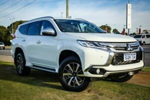 2018 Mitsubishi Pajero Sport QE MY18 Exceed White 8 Speed Sports Automatic Wagon Wangara Wanneroo Area Preview