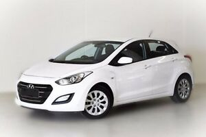2015 Hyundai i30 GD3 Series II MY16 Active White 6 Speed Sports Automatic Hatchback Berwick Casey Area Preview
