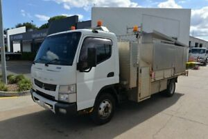 2012 MITSUBISHI FUSO CANTER 815 - Service Vehicle - Tray - Tray Dropside - SN#6061 Acacia Ridge Brisbane South West Preview