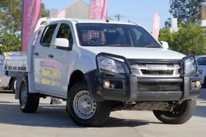 2015 Isuzu D-MAX MY15 SX Crew Cab White 5 Speed Sports Automatic Utility East Toowoomba Toowoomba City Preview