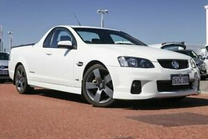 2012 Holden Ute VE II SS Thunder White 6 Speed Sports Automatic Utility