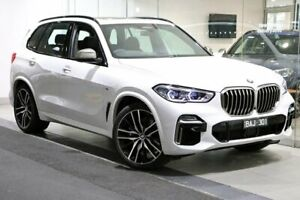 2018 BMW X5 G05 M50d Steptronic White 8 Speed Sports Automatic Wagon South Melbourne Port Phillip Preview