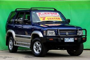 2001 Holden Jackaroo U8 MY01 SE Blue 4 Speed Automatic Wagon Ringwood East Maroondah Area Preview