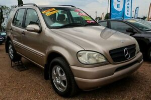 2000 Mercedes-Benz ML320 W163 MY2000 Luxury Silver 5 Speed Sports Automatic Wagon Colyton Penrith Area Preview