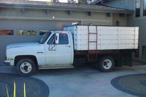 1988 GMC  One-Ton with Box and Hoist