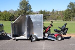 Mobility Scooter and Custom Trailer Gowrie Tuggeranong Preview