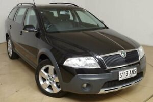 2008 Skoda Octavia Black Manual Wagon