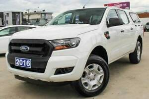 FROM $121 P/WEEK ON FINANCE* 2016 FORD RANGER XL DOUBLE CAB UTILITY Coburg Moreland Area Preview