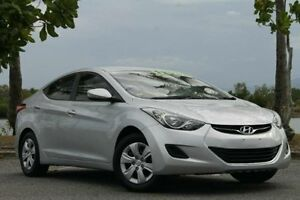 2012 Hyundai Elantra MD Active Silver 6 Speed Sports Automatic Sedan Bungalow Cairns City Preview
