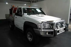 2008 Nissan Patrol GU MY08 ST (4x4) White 5 Speed Manual Cab Chassis Pennington Charles Sturt Area Preview