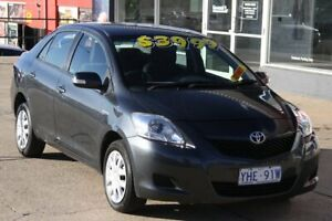 2010 Toyota Yaris NCP93R 08 Upgrade YRX Iron Gray 4 Speed Automatic Sedan Fyshwick South Canberra Preview