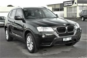 2014 BMW X3 F25 MY1213 xDrive20d Steptronic Black 8 Speed Automatic Wagon Cheltenham Kingston Area Preview