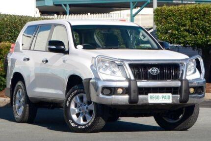 2011 Toyota Landcruiser Prado KDJ150R GX White 6 Speed Manual Wagon Acacia Ridge Brisbane South West Preview