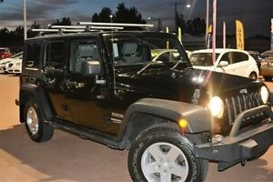 2010 Jeep Wrangler JK MY2010 Unlimited Sport Black 4 Speed Automatic Softtop Gosnells Gosnells Area Preview