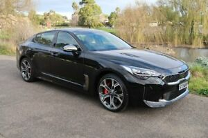 2018 Kia Stinger CK MY19 GT Fastback Black 8 Speed Sports Automatic Sedan Old Reynella Morphett Vale Area Preview