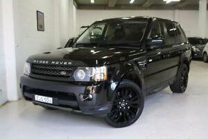 2013 Land Rover Range Rover Sport L320 MY13.5 SDV6 Silver Black 6 Speed Sports Automatic Wagon Castle Hill The Hills District Preview