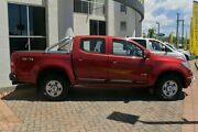2013 Holden Colorado RG MY13 LX Crew Cab Red/Black 6 Speed Sports Automatic Utility Southport Gold Coast City Preview