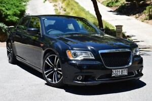 2013 Chrysler 300 LX MY13 SRT-8 Core Black 5 Speed Sports Automatic Sedan St Marys Mitcham Area Preview