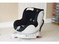 Britax Dualfix Black Car Seat (0-18Kg) - rotating car seat