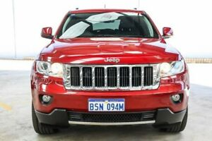 2013 Jeep Grand Cherokee WK MY13 Limited (4x4) Red 5 Speed Automatic Wagon